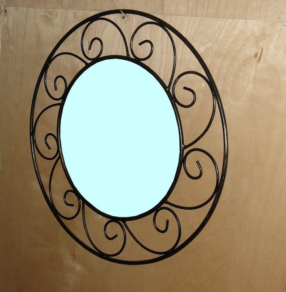 кованое зеркало в интернет магазине кованой мебели
